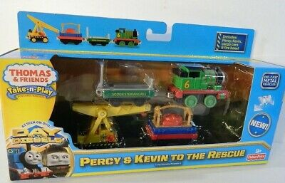 Fisher-Price Take-N-Play Thomas & Friends Percy & Kevin to the Rescue