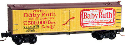 Micro-Trains MTL Z-Scale 40' Wood-Sheathed Reefer Car Nestle Baby Ruth #3