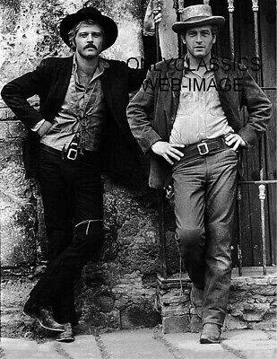 1969 Butch Cassidy And The Sundance Kid 8.5X11 Poster Tough Guys Western Outlaws