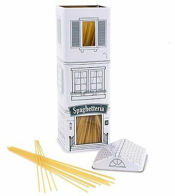 Balvi STORAGE TIN SPAGHETTERIA Shop - Pasta SPAGHETTI Tin with Lid 30cm tall