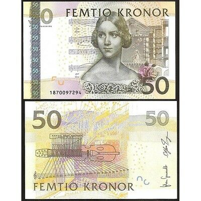 SWEDEN   50  KRONOR  2011    P 64   Uncirculated Banknotes