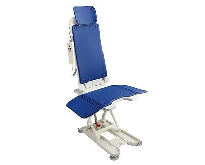 AdirMed Bathtub Ultra Quiet Automatic Reclining Lift Bath Chair Quick Charge