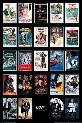 JAMES BOND (MOVIE POSTERS)   PP33726  maxi poster 61cm x 91.5cm