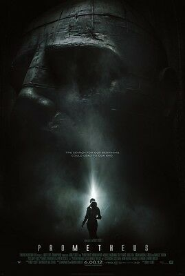 Prometheus Double Sided Original Movie Poster 27x40 inches