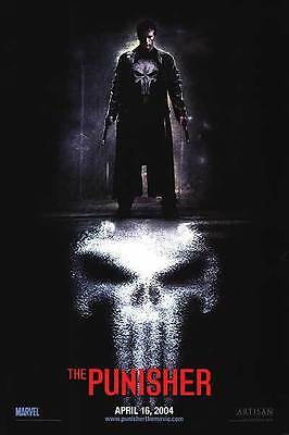Punisher 2nd Advance Double Sided Original Movie Poster 27x40 inches