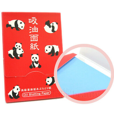 Katani Japan Panda Oil Blotting Paper powder type (100 sheets)