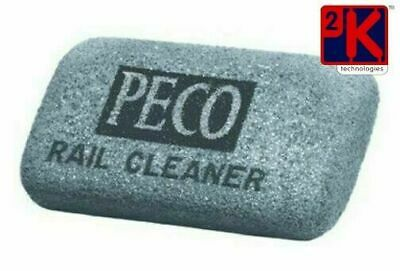 PECO PL-41b- Hard Model Railway Track Cleaning Rubber Block -Free 2nd Class Post