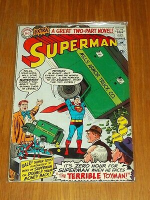 Superman #182 Vg (4.0) Dc Comics January 1966