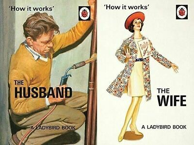 How it Works: The Husband & The Wife (Ladybird Books for Grown-Ups) 2 Books