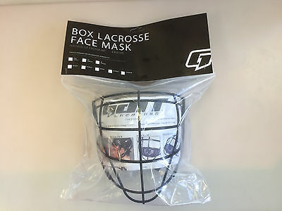 Gait G7 box lacrosse face mask senior new indoor cage BOXFM helmet sr black lax