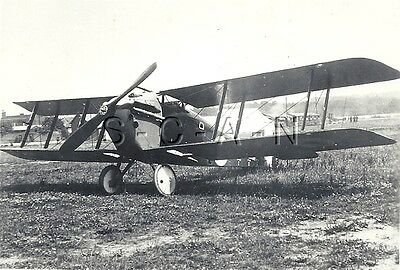 WWI Large Vintage RP- British Airplane- Sopwith Dolphin Biplane- Fighter Plane