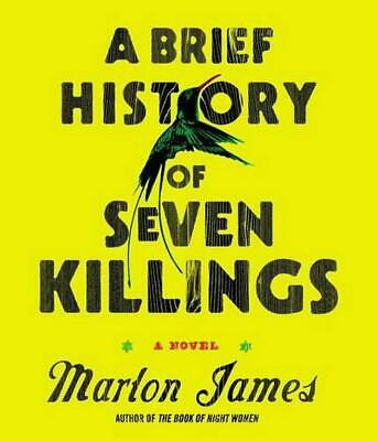 A Brief History of Seven Killings by Marlon James (English) Compact Disc Book Fr
