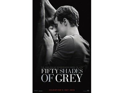 Fifty Shades of Grey Advance Double Sided Original Movie Poster 27x40 inches