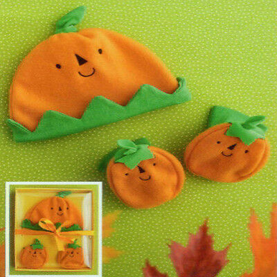 Hallmark Halloween 2010 Picture Perfect Baby's First Hat and Bootie Set #HHP2032