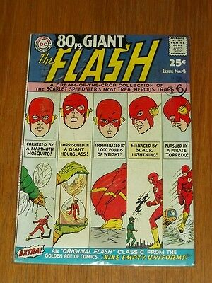 Eighty 80 Page Giant #4 Fn (6.0) Dc Comics Flash October 1964