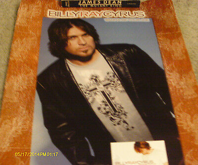 Billy Ray Cyrus Wanna Be Your Joe CD Mini Poster
