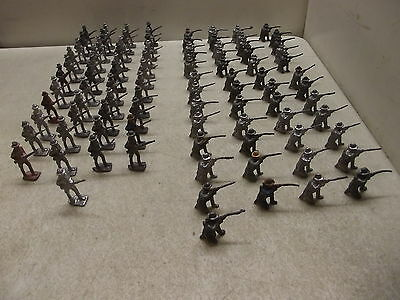 Vintage Lot Of 94 Lead Toy Soldiers