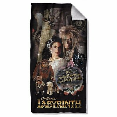 """Labyrinth Movie Forever Licensed Beach Towel 30"""" X 60"""""""
