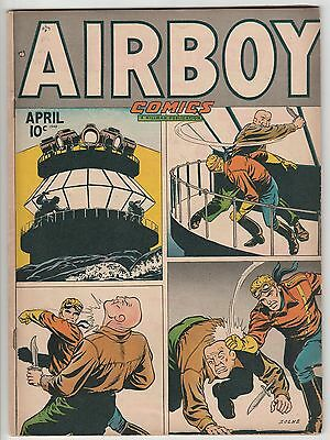 AIRBOY v5 #3,NICE MID GRADE,THE HEAP by INFANTINO!
