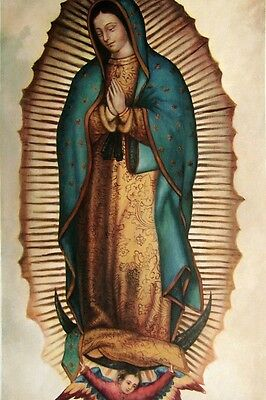 "Handmade Oil Painting repro Our Lady of Guadalupe,Virgin of Guadalupe 24""x36"""
