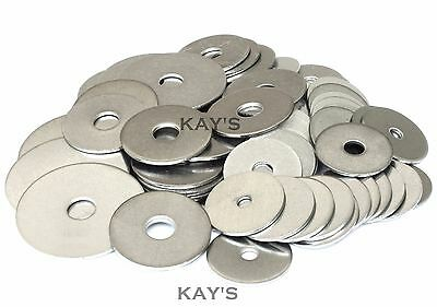 Penny/repair Washers A2 Stainless Steel For Bolts & Screws M4 M5 M6 M8 M10 M12