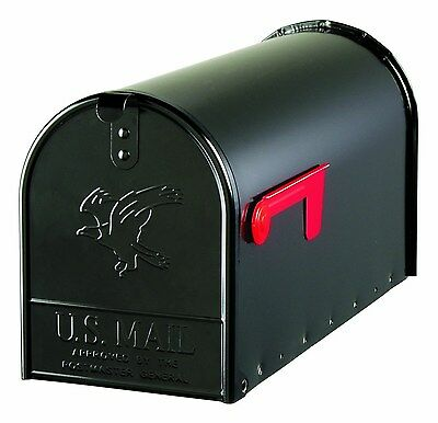 Large Premium Steel Rural Mailbox Dimensions: 23.5L x 8.75W x 11H inches. New
