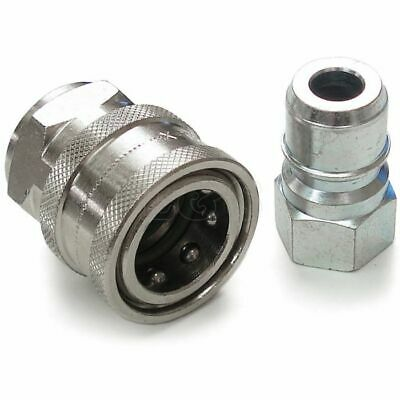 "Dura-Klix Quick Release Coupling Set - 3/8"" BSP Female/Female"