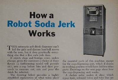 "1952 Soda Machine ""Soda Shoppe"" Drink Dispenser Vending Machine"