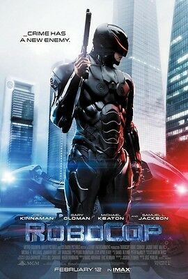 Robocop February 12 Final 2014 Double Sided Original Movie Poster 27x40 inches