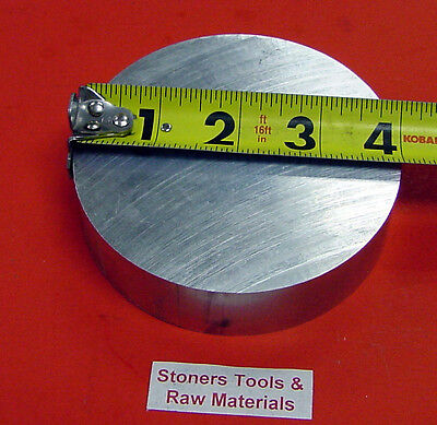 "4"" ALUMINUM 6061 ROUND BAR ROD 1.00"" LONG New Lathe Solid Stock 4.00"" Diameter"