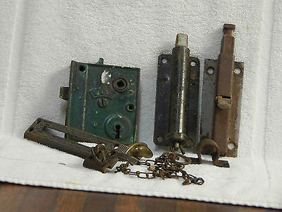 Victorian Hardware: Door Locks and Latches