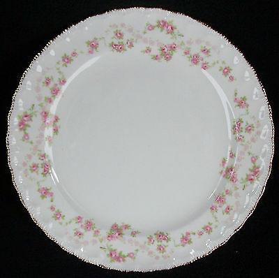 Pope Gosser China Made In USA Florence/Scalloped Edge Luncheon Plate 9 1/8""