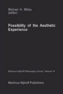 Possibility of the Aesthetic Experience (English) Hardcover Book Free Shipping!