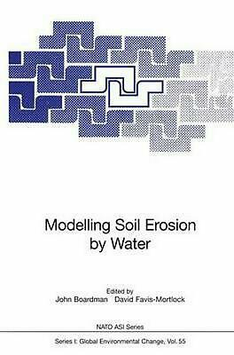 Modelling Soil Erosion by Water (English) Paperback Book Free Shipping!