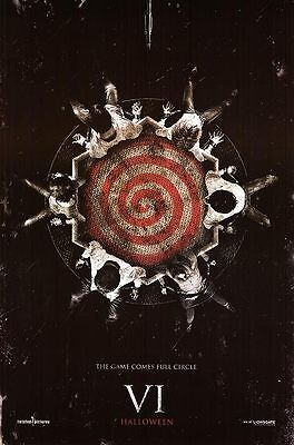 Saw VI Advance Double Sided Original Movie Poster 27x40 inches
