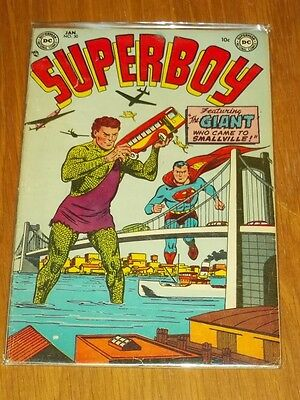 Superboy #30 Vg (4.0) Dc Comics January 1954<