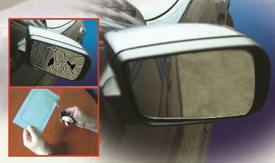 Cut To Size Adhesive Car Mirror - 254mm x 178mm - Vehicle Essentials