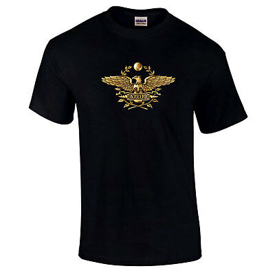 SPQR Roman Gladiator Imperial Golden Eagle Quality Premium Quality Gift T-Shirt