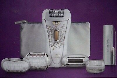 Philips Hp6576/50 Satin Perfect Cordless Total Body Epilator & Shaving System