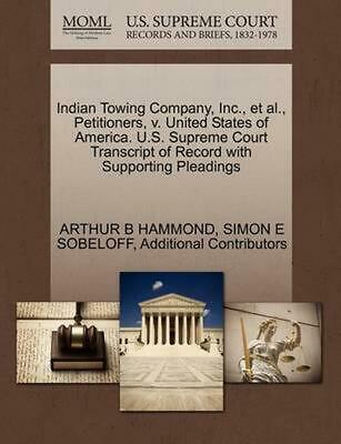 Indian Towing Company, Inc., et al., Petitioners, v. United States of America. U