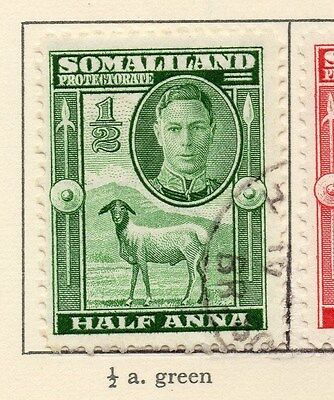 Somaliland Protectorate 1942 Early Issue Fine Used 1/2a. 028956