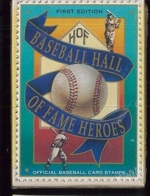 UNOPENED Baseball Trading Card Stamps HALL OF FAME HEROES #1693 -1704 St.Vincent