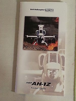 Bell Helicopter AH-1Z Pocket Guide NEW 64 Pages 2001 STYLE 2