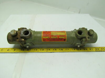 Young Raditor Co. XHF-201-EY-1P-CNT Heat Exchanger Oil Cooler 400F 100psi