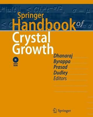 Springer Handbook of Crystal Growth (English) Book & Merchandise Book Free Shipp