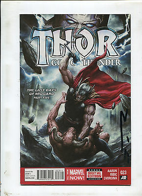 Thor God Of Thunder #23 (9.0 Or Better) Signed By Esad Ribic!