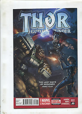 Thor God Of Thunder #22 (9.0 Or Better) Signed By Esad Ribic!
