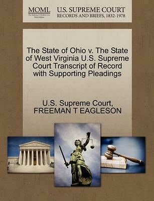 The State of Ohio v. The State of West Virginia U.S. Supreme Court Transcript of