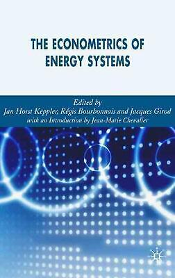 NEW Econometrics of Energy Systems by Hardcover Book (English) Free Shipping