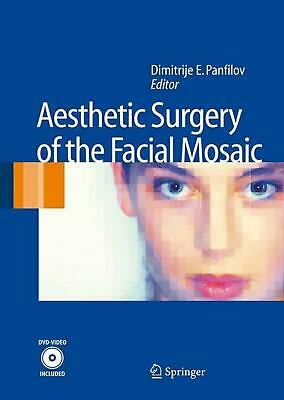 Aesthetic Surgery of the Facial Mosaic [With DVD] (English) Hardcover Book Free